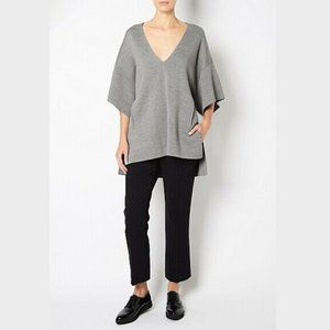 Witchery Grey Wool Blend Knit Tunic Top Size S-M